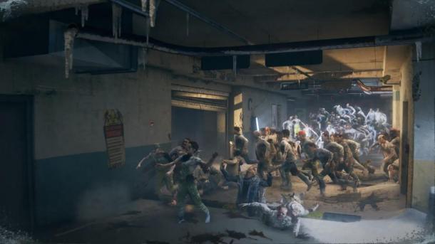 《僵尸世界大戰》新預告片 恐怖尸潮襲來包圍四人組
