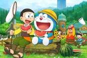 《哆啦A梦:大雄的牧场物语》截图 悠闲田园风光