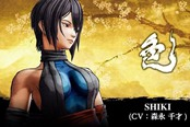 文身很酷《侍魂 晓》新角色Shiki高清截图公布