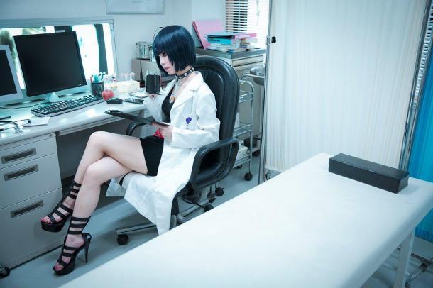 《女神异闻录5》武见妙Cos美图 长腿美女魅力难挡
