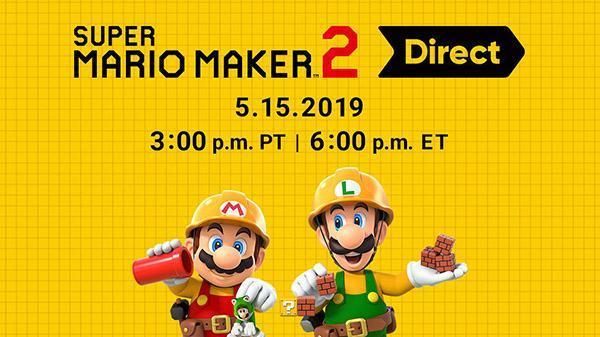任天堂公布《超级马里奥制造2》专场直面会 共15分钟