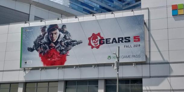 E3:《戰爭機器5》巨幅宣傳海報現身 確認今秋發售