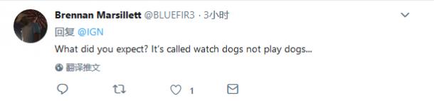 来自爱狗人士的疑惑 《看门狗:军团》居然没有狗?