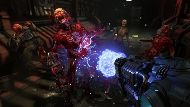 《毀滅戰士:永恒》射擊更爽快 游戲體驗更加勁爆