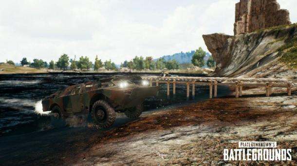 《绝地求生》新更新公告 加入沙漠之鹰及装甲车等内容