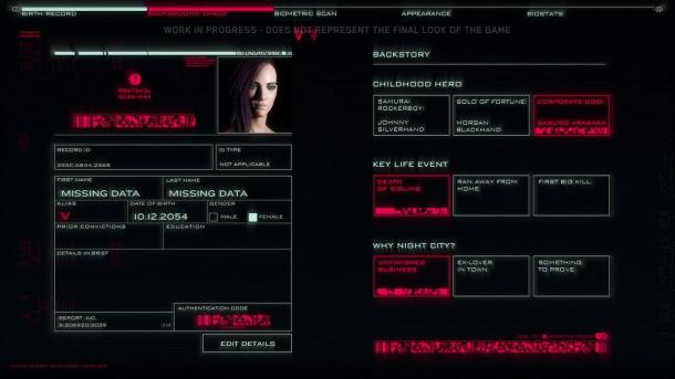 《赛博朋克2077》有三种不同开局 玩家来谱写V故事
