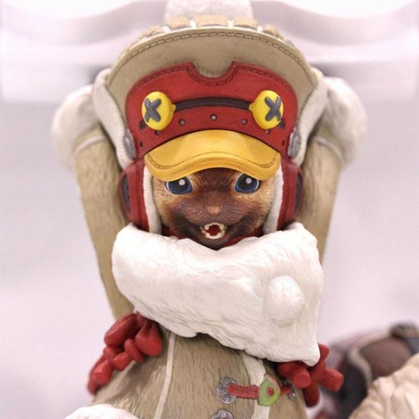 我想有貓柄 《怪物獵人:世界》艾露貓手柄支架彩繪版公布