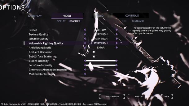 《迸发2》PC版使用Vulkan API 画面配置选项曝光