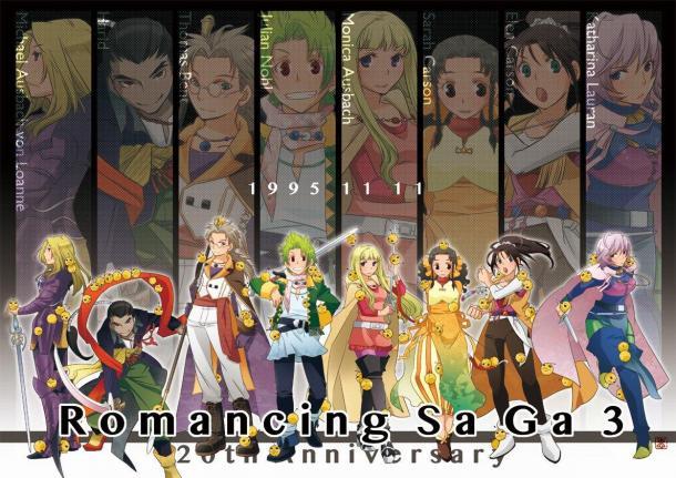 24年经典重燃 SE《浪漫沙加3:HD重制版》11月11日发售
