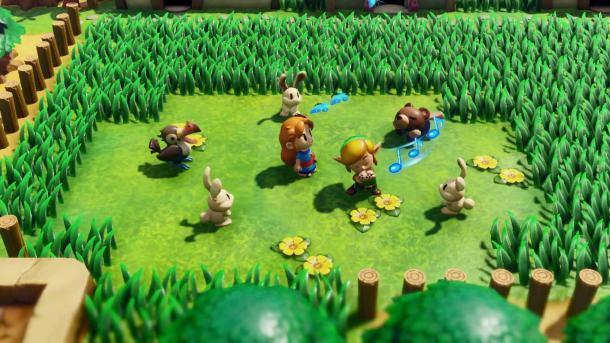 26年经典重制 《塞尔达传说:织梦岛》TVCM公开部分剧情玩法
