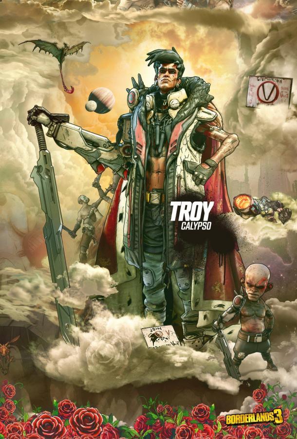 《无主之地3》大反派新海报 邪教领袖的疯狂威胁