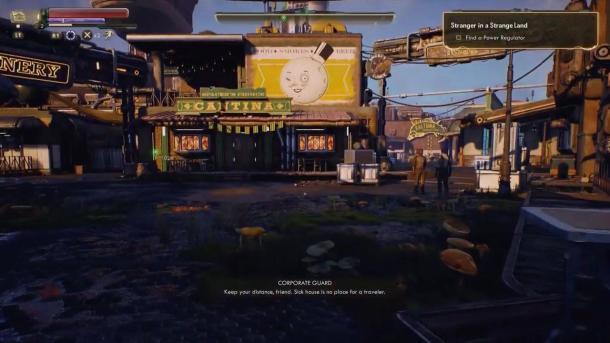 黑曜石力作《天外世界》40分钟超长实机视频展示