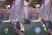《守望先锋》Switch、PC版画面对比