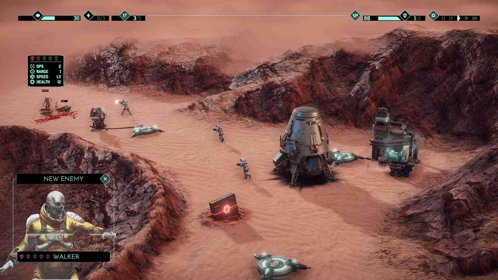 火星Z:战术基地防御图片