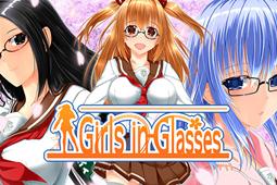 戴眼镜的少女