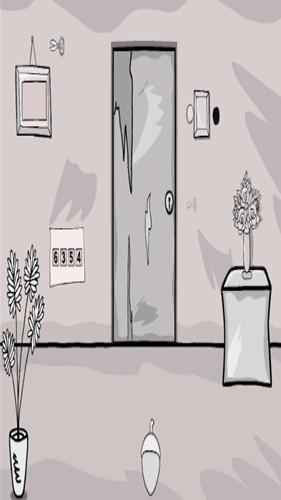 黑白房间逃生