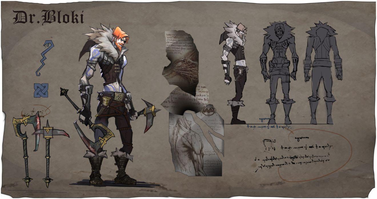 奈奥格之影角色布洛基派系、游戏定位及人物背景故事详细解析