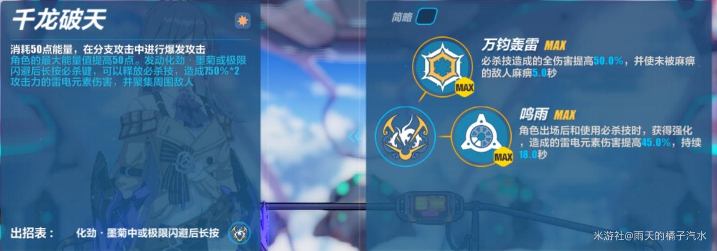 崩坏3增幅符华雾都迅羽强不强 雾都迅羽技能详解及玩法攻略