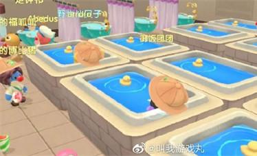 摩尔庄园手游澡堂在什么位置