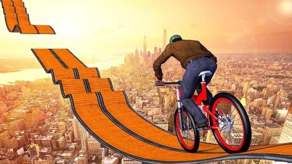 不可能的自行车轨道截图