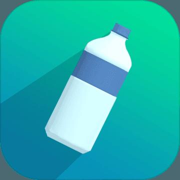 翻转的瓶子3D