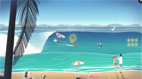 冲浪无尽的海浪截图