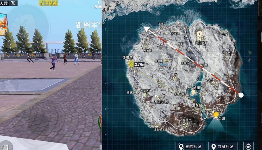和平精英雪地地图必刷信号枪点一览