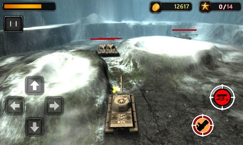 坦克大战3D截图