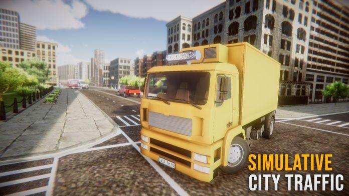 卡车模拟驾驶欧洲之行截图