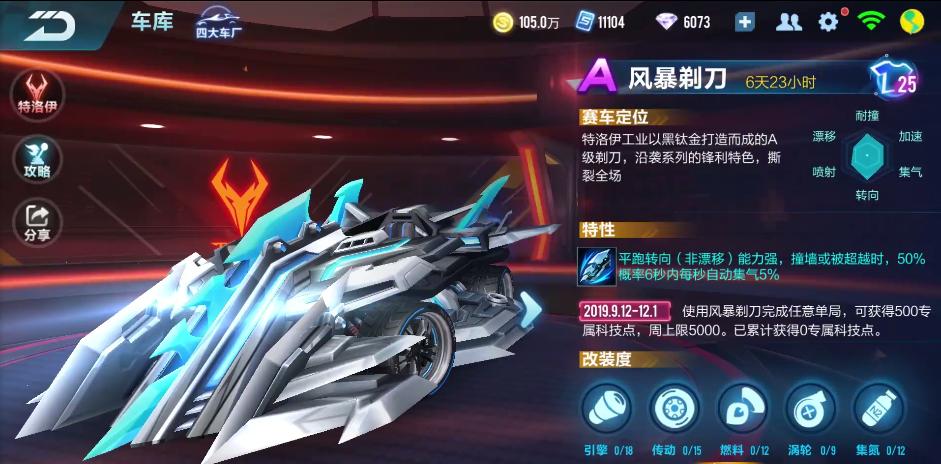 QQ飞车幸运快乐8A车风暴剃刀值不值得买 高玩点评玩法介绍