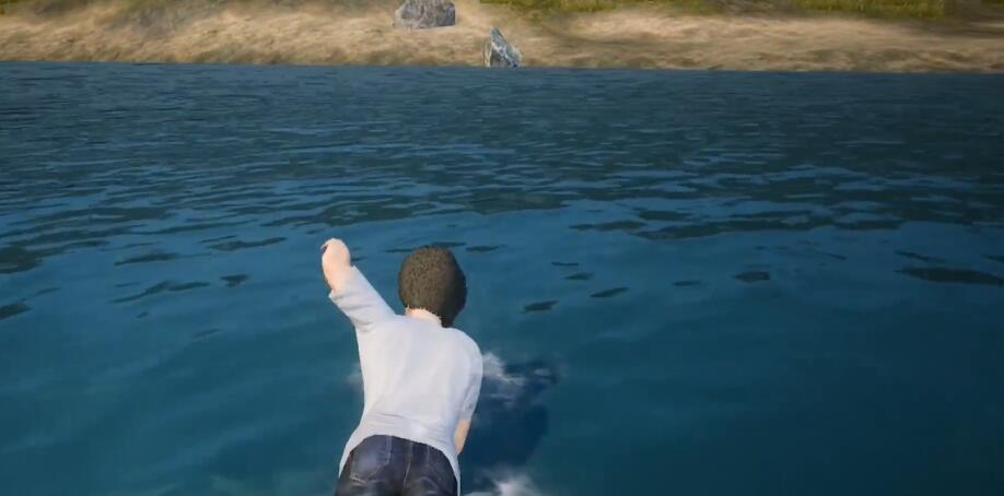 和平精英无敌bug 水中扶起的队友竟然变成了幽灵