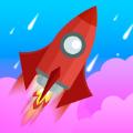 火箭飞行发射