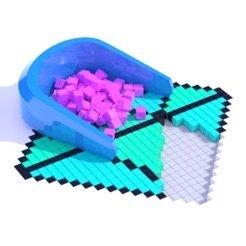 方块填充3D