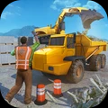 组装挖土机