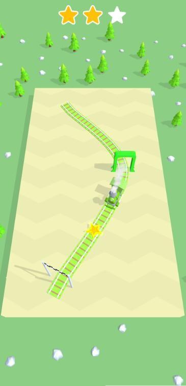 列车控制3D截图