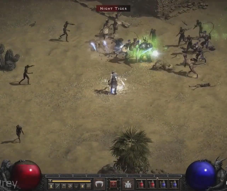 《暗黑破坏神2》重制版实机演示视频放出