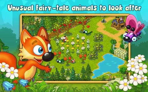 在魔幻的森林里,你要帮助小动物们建立一个神奇的