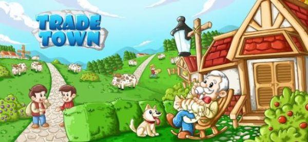 欧式小镇卡通图片