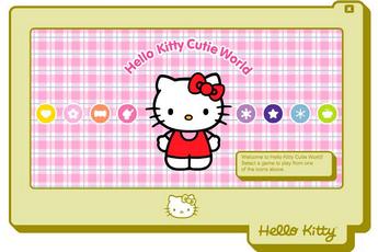 凯蒂猫顽皮世界图片
