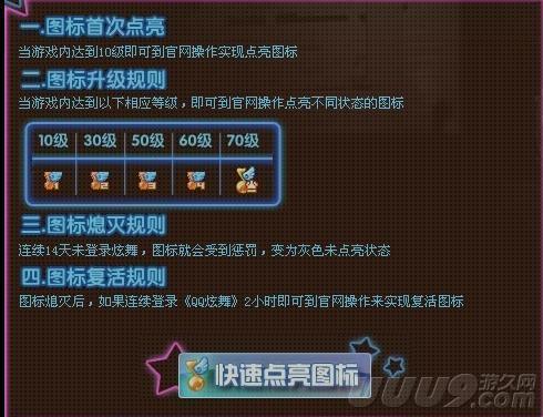 qq炫舞1.8.5到1.9.1_QQ炫舞——图标级别及1-90升级经验_逗游攻略中心