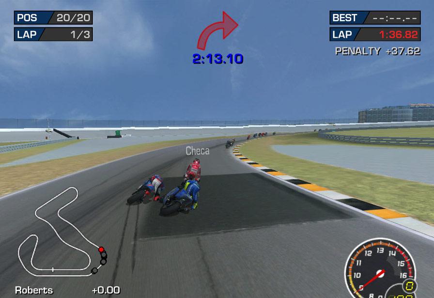 极品摩托:终极赛车技3图片
