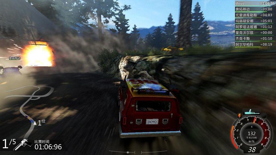 燃油机车:极限版图片