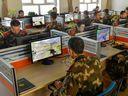 新疆邊防團隊組織CS競賽緩解執勤官兵心理壓力