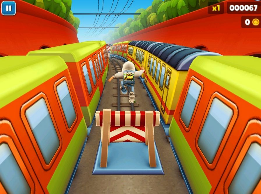 地铁跑酷图片