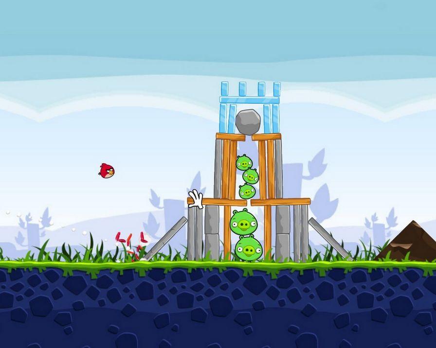 愤怒的小鸟愤怒的小鸟游戏单机版图片下载