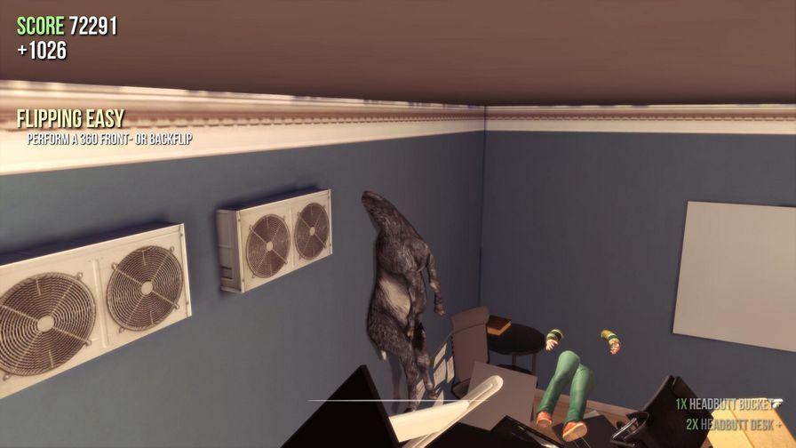 模拟山羊图片