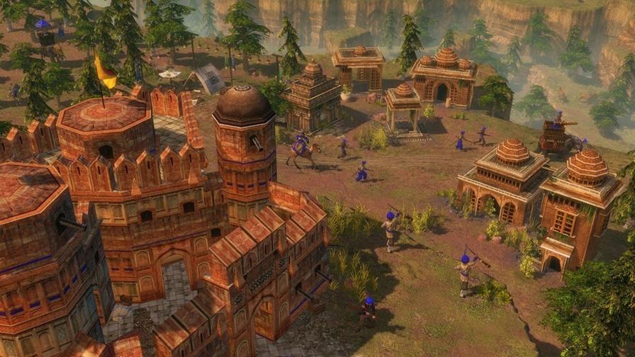 帝国时代3图片