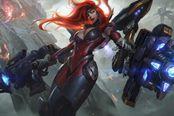 《英雄联盟》好运姐终极皮肤公布 加装外骨骼机甲的战姬