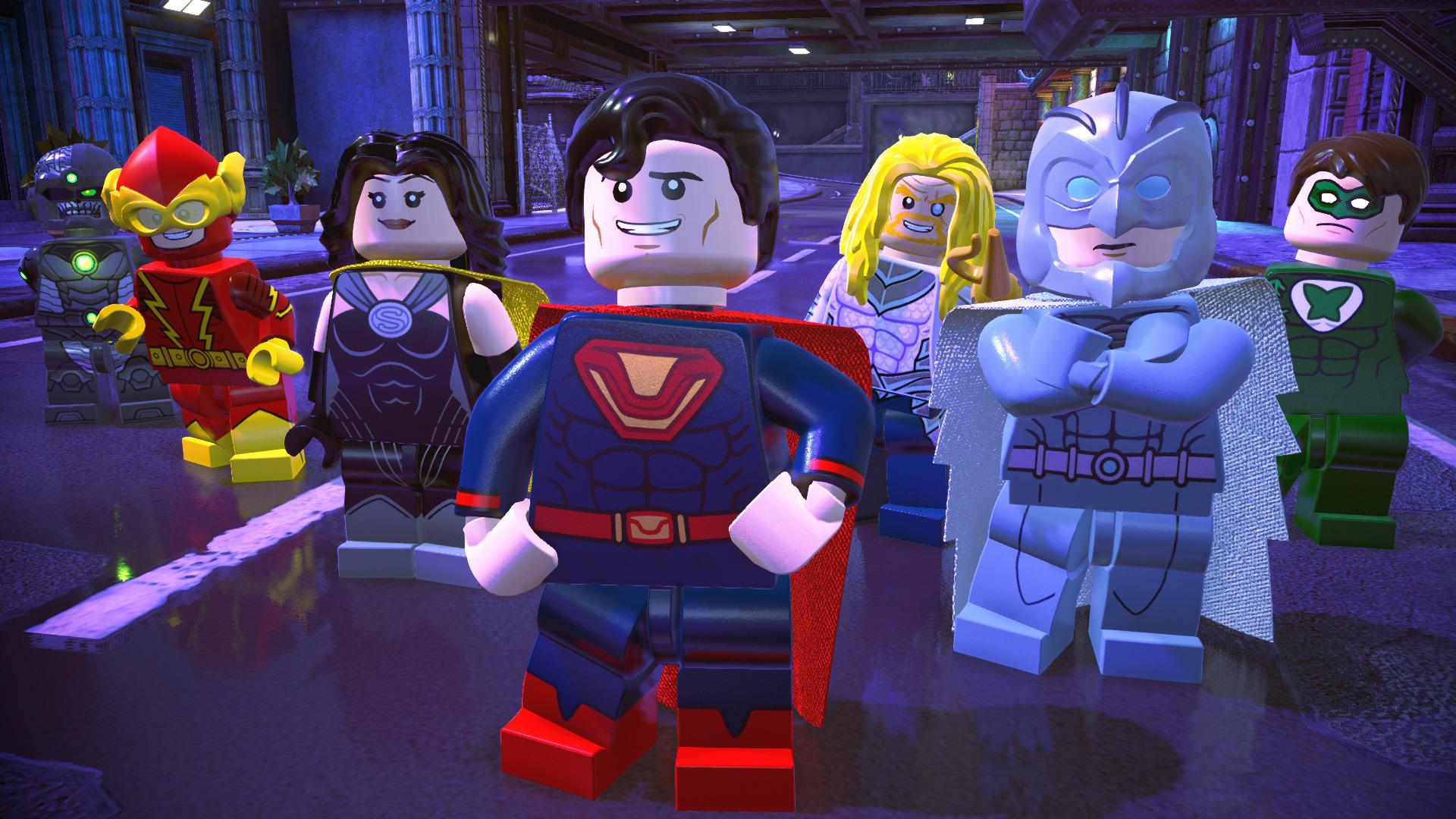 乐高DC超级反派图片