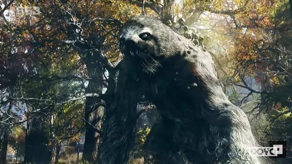 巨型树懒_《辐射76》阿巴拉契亚城市传说8个恐怖的敌人_逗游网
